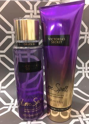 Victoria secret Fragrance and lotion set for Sale in Malden, MA