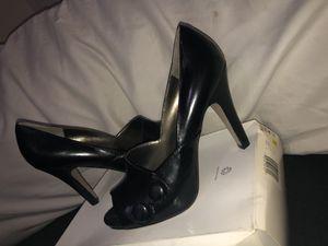 Office Attire black heels size 10 for Sale in Elizabeth, NJ