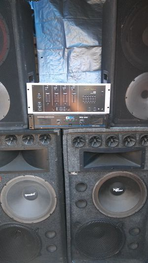 Dj equipment for Sale in Los Angeles, CA