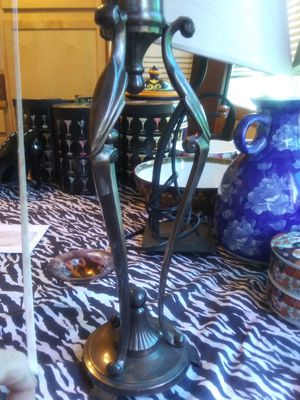 Vintage Candle holder can be made into lamp. for Sale in Marysville, WA