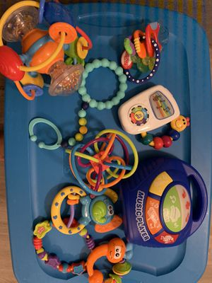 Baby misc and teething toys for Sale in Walnut Creek, CA