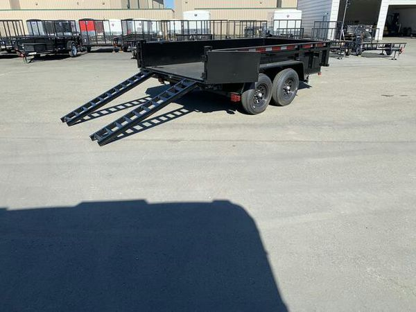 6x12 Carry On 10K Dump Trailer
