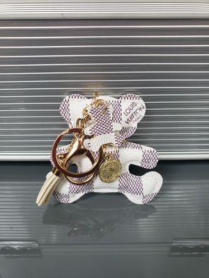Designer Fashion Bear Bag Charm / Keychain for Sale in Decatur, GA
