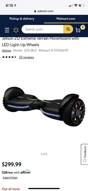 Jetson Z12 Hoverboard for Sale in Los Angeles, CA