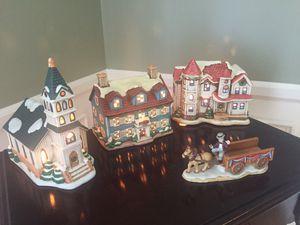 Lefton Lighted Christmas Village for Sale in Lexington, KY