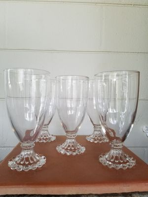 Vintage boopy glass/goblets for Sale in TEMPLE TERR, FL