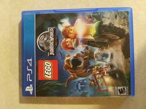 Lego jurrassic ps4 game never used flawless for Sale in Anchorage, AK