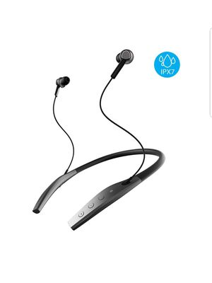 Wireless Neckband Bluetooth Headphones Sealed Waterproof IPX7 new for Sale in Silver Spring, MD