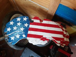 Wooden American Eagle for Sale in Morrisville, PA
