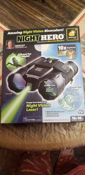 Night Hero night vision binoculars for Sale in Farmville, VA