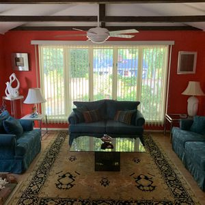 Living Room Set (2 Love Seats And Large Chair) for Sale in Rockville, MD
