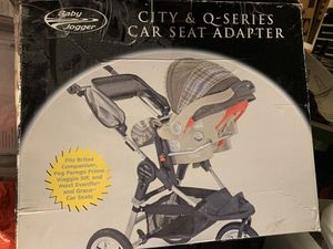 BABY JOGGER (car seat adapter) SEE STROLLER post for Sale in Sacramento, CA