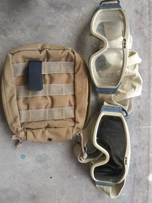 USGI ESS MILITARY GOGGLES for Sale in Port Richey, FL