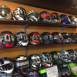 New Motorcycle Dot Helmets $75 and Up for Sale in Whittier,  CA