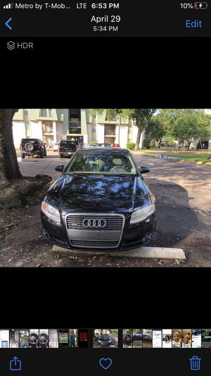 It's a 2007 Audi it runs nothing wrong with it I just can't handle a foreign car asking for 3500 the Lowest I'm taking is 2500$ for Sale in New Orleans, LA