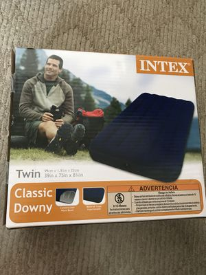 """Inflatable Airbed Mattress Twin 8.75"""" for Sale in Bentonville, AR"""