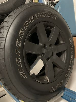 2015 Jeep Wrangler Sahara wheels/ Rims for Sale in Orlando, FL