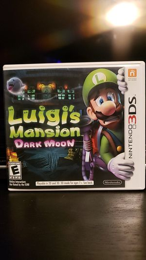 Luigi's Mansion Dark Moon for 3Ds for Sale in Los Angeles, CA