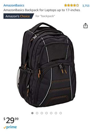 Amazon basics laptop backpack for Sale in Modesto, CA