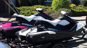 Jet skis $500 for both for the day weekend specials available as well as delivery for Sale in Tracy, CA