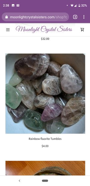 Rainbow Fluorite Tumbles $4 each for Sale in Oakland, CA