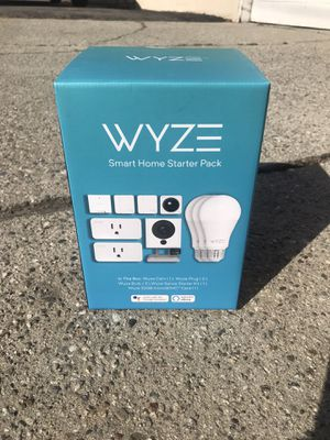 Wyze Camera Smart Home starter pack works with (google and Alexa) for Sale in Upland, CA