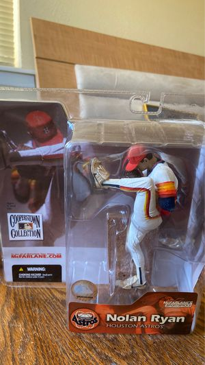 Houston Astros 2004 McFarlane Nolan Ryan CHASE Action Figure- Nice Condition! for Sale in El Paso, TX