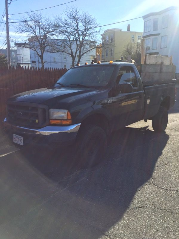 2000 Ford F-350 diesel