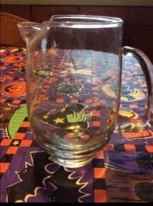 Vintage small glass milk/water pitcher for Sale in Milnesville, PA
