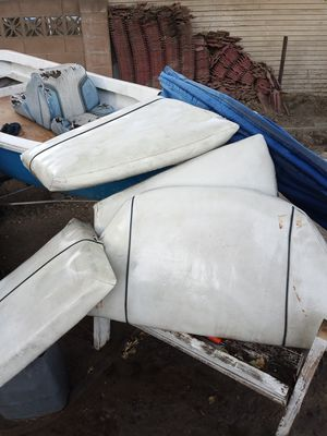 Cushions and canopy for Bayliner boat for Sale in Selma, CA
