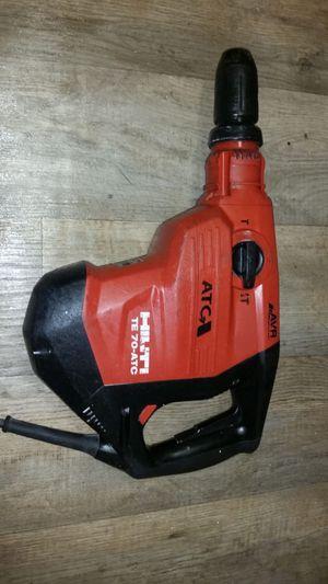 Yack hammer hilti te 70 for Sale in Alexandria, VA