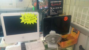Apple iMac an HP monitors for Sale in St. Louis, MO