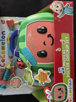 Cocomelon Musical Doctor Checkup Set New in Package for Sale in Orange, CA