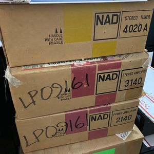 NAD Amplifier, Preamplifier, Stereo Tuner for Sale in San Diego, CA
