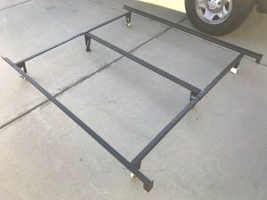 Heavy King size bed frame, adjustable for Sale in Fontana, CA