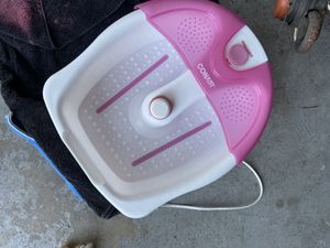 Foot massage pedicure bowl for Sale in Lake Worth, FL