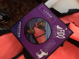 NEW DOG LIFE VEST FLOATATION. DEVICE for Sale in Marina, CA