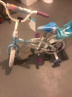 Frozen little girls bike for Sale in Brockton, MA