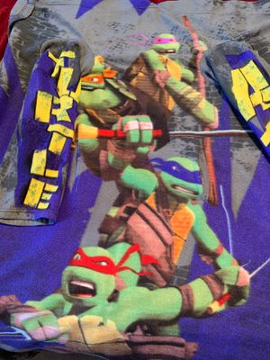 Ninja turtle Snuggie with arms and pockets for Sale in Killeen, TX
