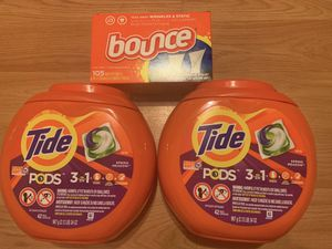 Tide/Bounce Bundle for Sale in Fresno, CA
