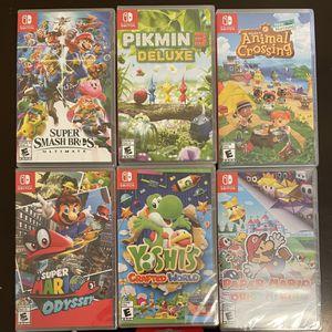 Nintendo Switch Games NEW for Sale in Miami, FL