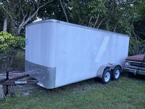 2010 Great working trailer 16ft x 7 ft. for Sale in Miami, FL