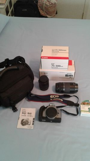 CANON, EOS, Rebel, K2, 3000V, Camera Kit, Zoom Lense, Case, FugiFilm for Sale in Brooksville, FL