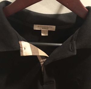 Burberry Brit polo size xl (fits like large) worn twice for Sale in Washington, DC