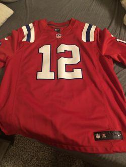 Patriots Brady Jersey AFL throw back XXL for Sale in Lynnwood,  WA