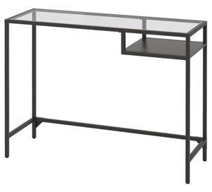 Industrial Desk - glass top for Sale in New York, NY