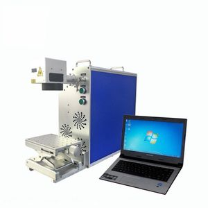 BRAND NEW Fast Speed 20W Portable Qr Code Mini Laser Marking Machine , With Air Cooling Fiber Laser Marking Machine for Sale in Irwindale, CA