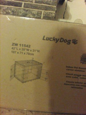 Indoor dog kennel need gone asap for Sale in Evansville, IN