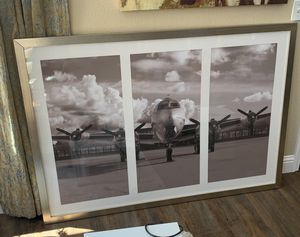 Framed Airplane Photo Art for Sale in Turlock, CA
