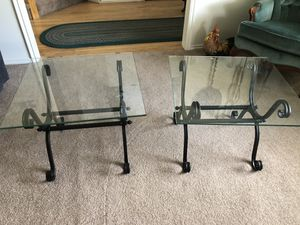 End tables pair for Sale in Cottonwood Heights, UT